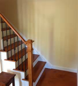 Iron balusters traditional staircase chicago by stair supplies