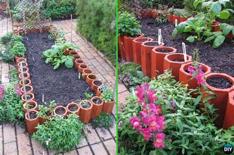 Diy Garden Edging Ideas Creative Garden Bed Edging Ideas Projects