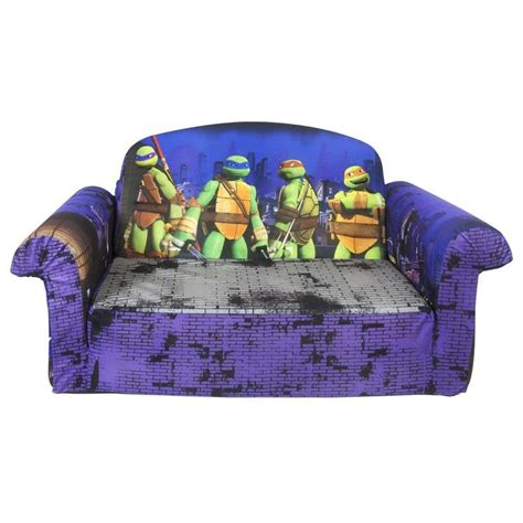 Tmnt Chair by Mutant Turtles Toddler Flip Open