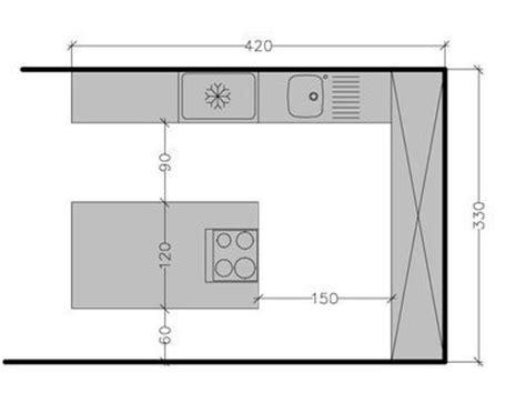 plan cuisine am駭ag馥 plan de cuisine avec 238 lot central les 6 exemples 224