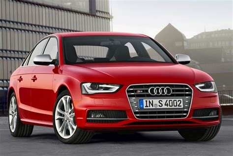Audi S4 Rot by Audi Refreshes A4 Range For 2012