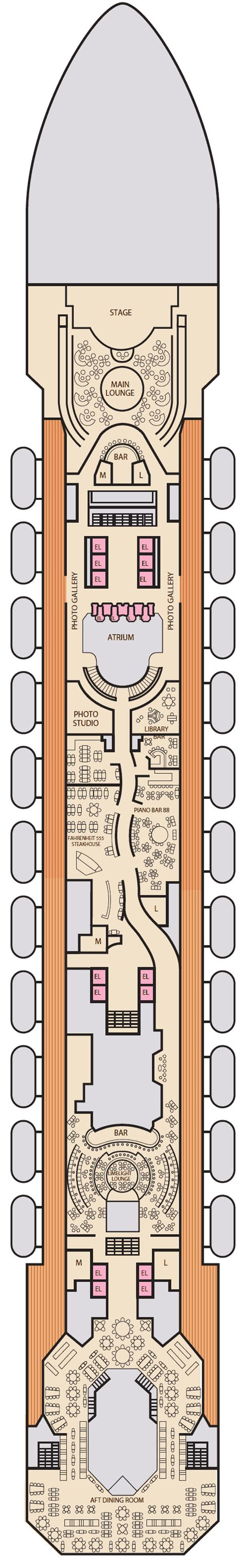 carnival sunshine floor plan carnival sunshine deck plans