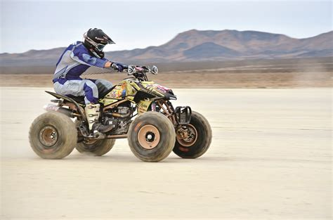 atv motocross racing project atv desert dueler honda tank dirt wheels magazine