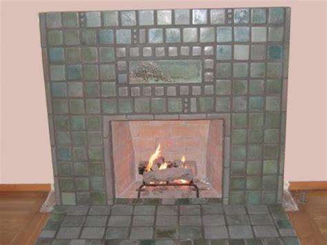 san diego batchelder tile fireplace photos custom