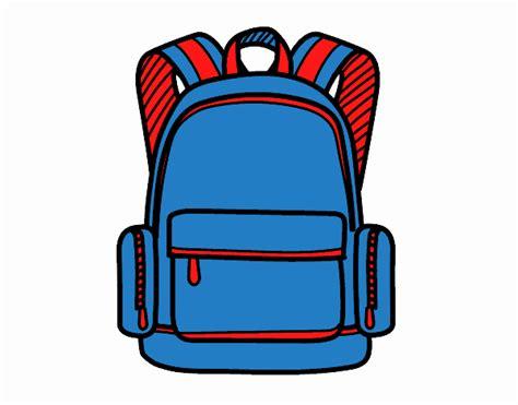 una mochila para el dibujo de una mochila escolar pintado por edduar1 en