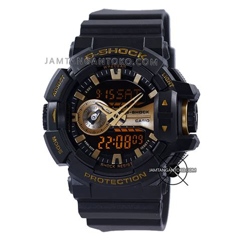 Casio Gshock Ori Bm Ga 400 harga sarap jam tangan g shock ga 400gb 1a9 black gold