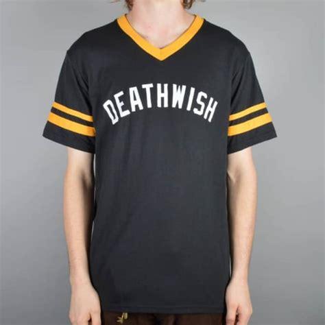 Skateboarding Tshirt Custom Tshirt Termurah deathwish skateboards stop custom t shirt black yellow skate t shirts from