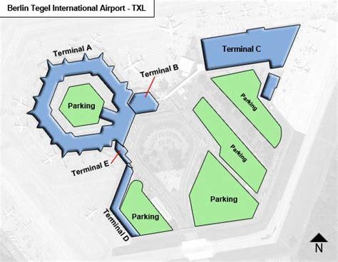tegel terminal e berlin tegel txl airport terminal map