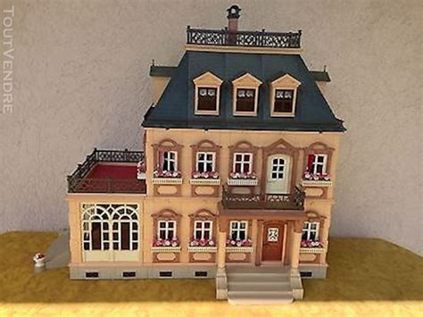 Maison playmobil meublée   Clasf