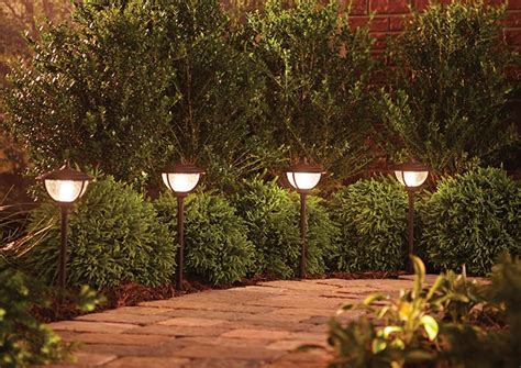 Installing Landscape Lights How To Install Landscape Lighting At The Home Depot