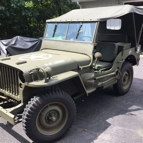 military jeep willys for sale 1943 willys mb jeep for sale
