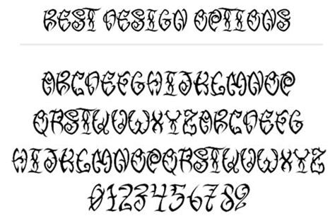 tattoo fonts tester free fonts with tribal designs to boost your font