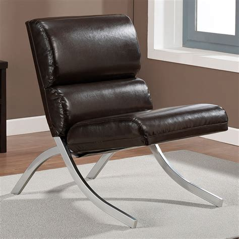 Overstock Leather Chair by Rialto Brown Bonded Leather Chair