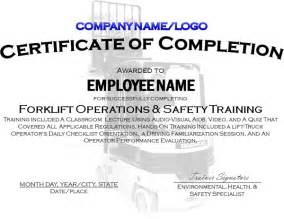 safety certificate templates certificate template