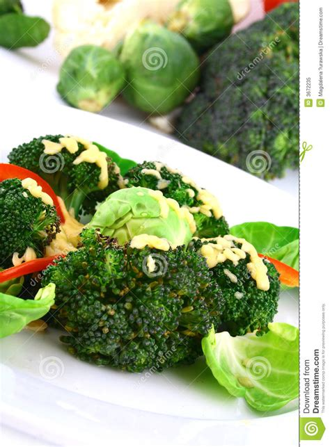 carbohydrates broccoli lightly cooked broccoli stock image image of carbs