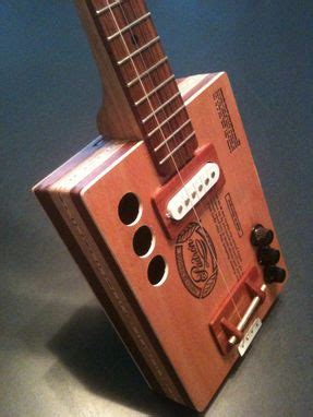 Padron Handmade - custom cigar box guitar padron 9 by garbocks guitars