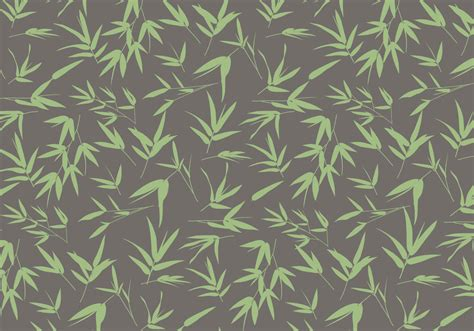 pattern vector leaf bamboo leaves pattern vector download free vector art
