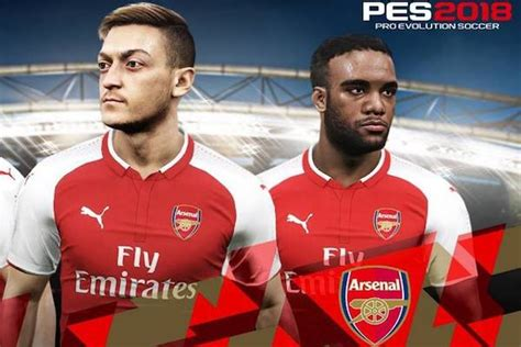 arsenal pes 2018 arsenal signe pour konami c est la fin de north london