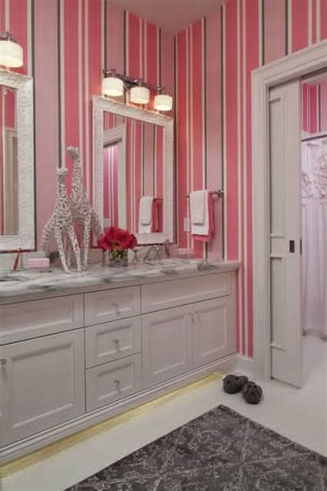 Bathroom Wallpaper Stripes by 25 Bathroom Decor Ideas Ultimate Home Ideas