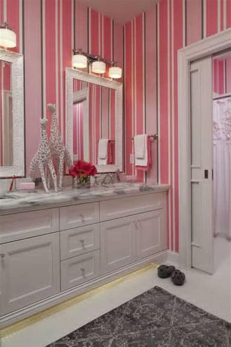 bathroom wallpaper stripes 25 kids bathroom decor ideas ultimate home ideas