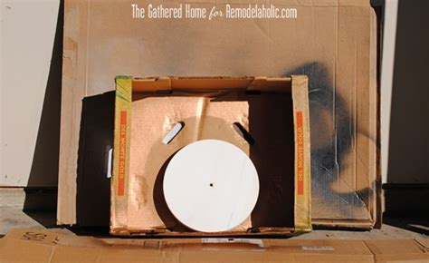 spray painting set remodelaholic diy two tone copper clock