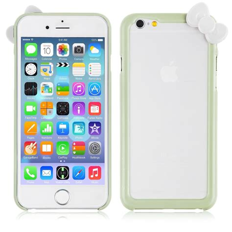 Iphone Iphone 5s Bow To Toe Cover hello bow bowknot pc bumper frame cover skin for iphone 6 5 5s ebay
