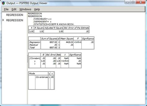 spss output viewer window free download spss spv file reader programs