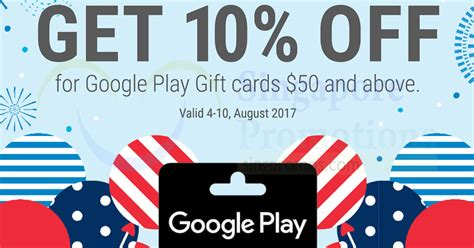 Major Gift Card 2017 - google play gift cards going at 10 off at 7 eleven from 4 10 aug 2017