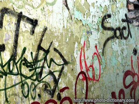what is graffiti definition graffiti tags photo picture definition at photo