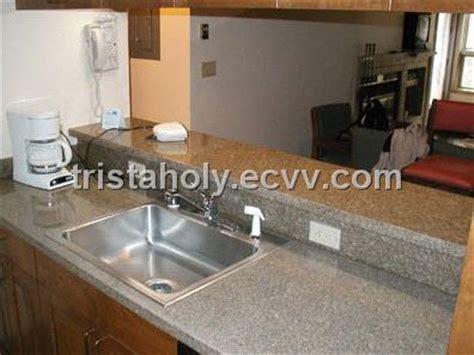 Kompor Tanam Europa granite counter top granite vanity top bainbrook brown