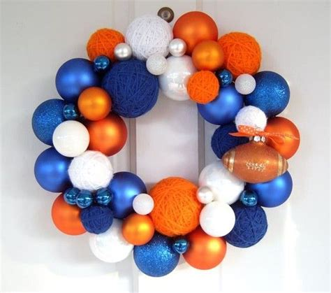 1000 ideas about football team wreaths on pinterest