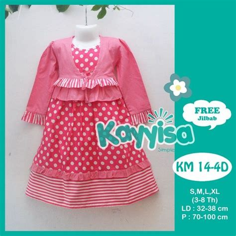 Dress Anak Baju Anak Perempuan Dk 42 41 best images about busana muslim anak on models sweet and bandung