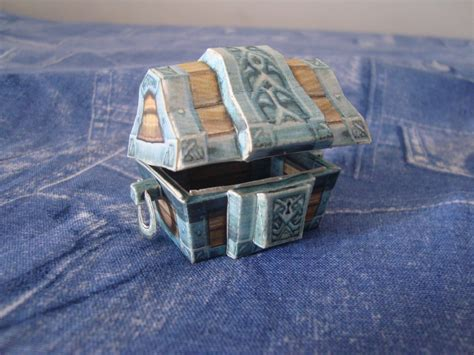 Papercraft Treasure Chest - papercraft wow treasure chest by vandreraia on deviantart