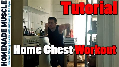 how to do dips at home chest workout