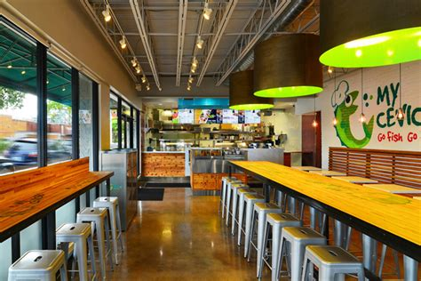 home design store warehouse miami fl my ceviche fast food by id design international miami florida 187 retail design blog