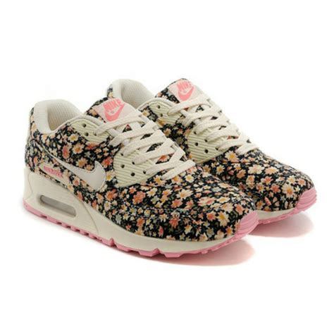 Airmax Flowers shoes nike sneakers air max trainers nike air max 90