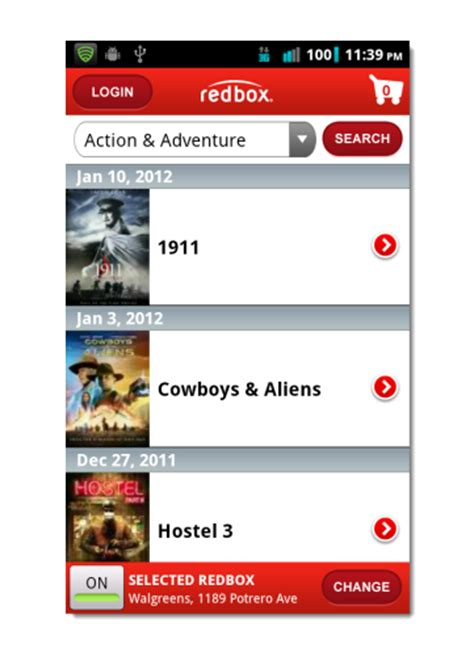 redbox app for android redbox app for android updated with many useful features best android