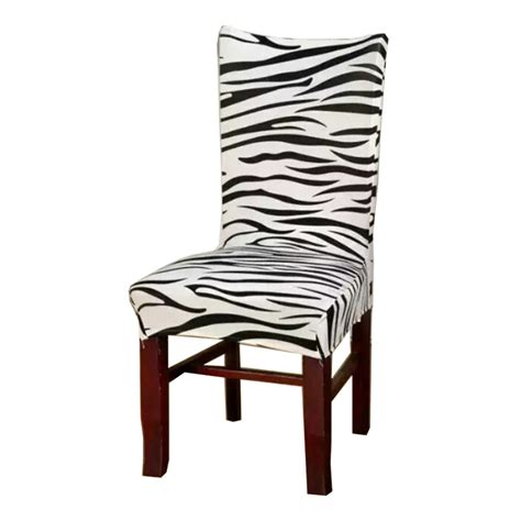 zebra dining room chairs zebra dining room chair covers 28 images stretch zebra