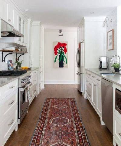 Galley Kitchen Rugs 25 Best Ideas About Small Galley Kitchens On Small Kitchen Design Images Small