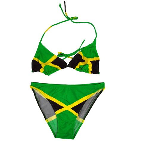 jamaican colored bathing suit jamaican flag swimsuit
