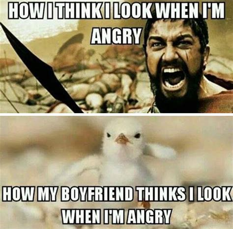 Angry Boyfriend Meme - being angry the meta picture