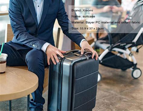 maleta cabina xiaomi xiaomi business 20 inch opening cabin boarding suitcase