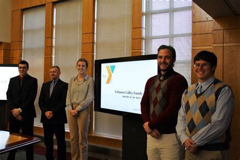 Lvc Mba by Business Students Partner With Lebanon Ymca February 22