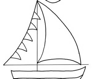 simple boat template 5 best images of sailboat templates printable simple