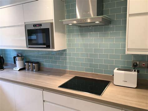 glass metro tiles uk   home kitchen splashback