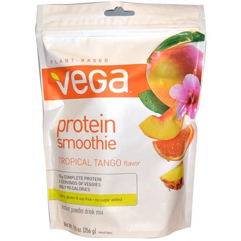 b protein mango flavour protein smoothie instant powder drink mix tropical