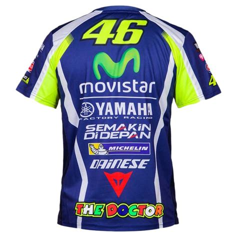 T Sirt Movistar Yamaha Vr46 Motogp valentino t shirt vr46 replica yamaha buy and offers
