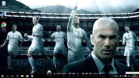 theme for windows 8 1 real madrid real madrid 2016 theme for windows 8 and 10 windows 10