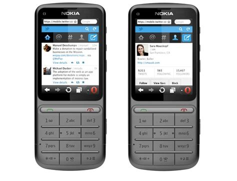 Hp Nokia Feature Phone makes its mobile site more feature phone friendly