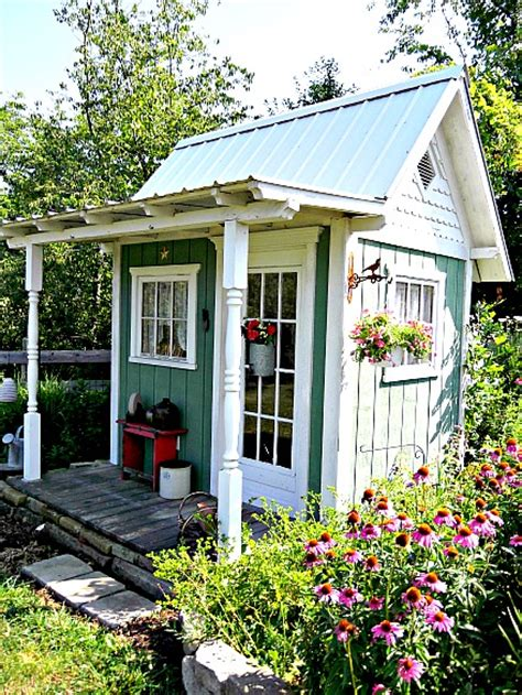 she sheds pinterest cottage garden sheds on pinterest painted shed garden